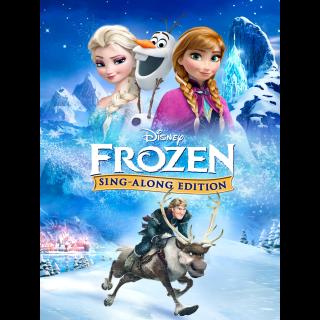 Frozen Sing-Along Edition | MA Code DMA/DMR
