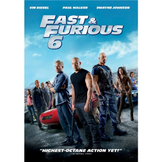 Fast & Furious 6 Extended Edition | MA Code
