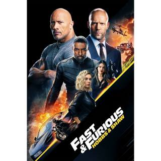 Fast & Furious Presents: Hobbs & Shaw 4K UHD | Vudu