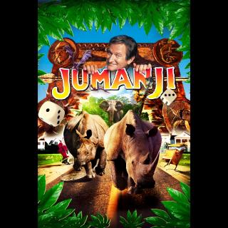 Jumanji (1995) 4K UHD | Vudu