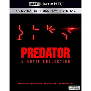 Predator 4-Film Collection (Bundle) 4K UHD | Vudu