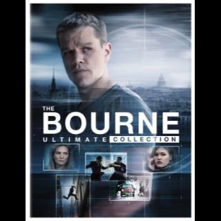 The Jason Bourne 5-Movie Collection (Bundle) |Vudu