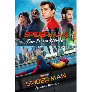 Spider-Man: Far from Home + Homecoming (Bundle) | MA Code