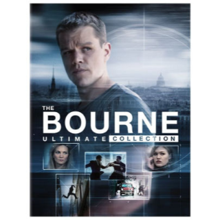 The Jason Bourne 5-Movie Collection (Bundle) |Vudu