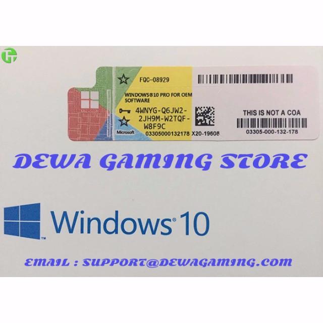 windows 10 pro 64 license key