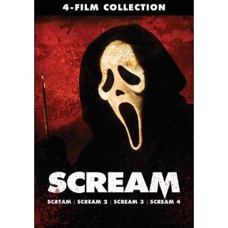 Scream 4-Film Collection (Bundle) | Vudu