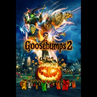 Goosebumps 2: Haunted Halloween (2018) 4K UHD | Vudu