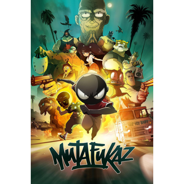 Mutafukaz 2018 Vudu Digital Movies Gameflip