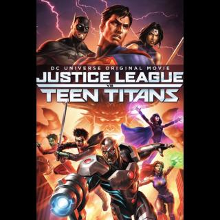 Justice League vs. Teen Titans | InstaWatch VUDU