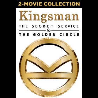 Kingsman 2 Movie Collection (Bundle) | Vudu