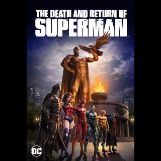The Death and Return of Superman (2019) | Vudu