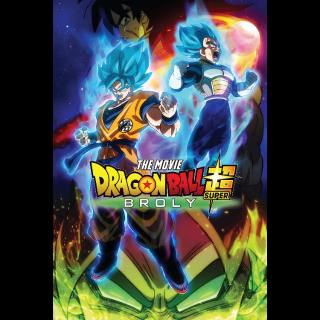 Dragon Ball Super: Broly (Dual Language Bundle) | InstaWatch VUDU