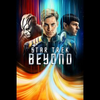 Star Trek Beyond | HDX | Vudu Itunes