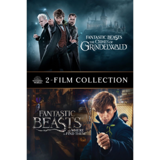 Fantastic Beasts: The Crimes of Grindelwald + The Crimes of Grindelwald (2-Film) | Vudu
