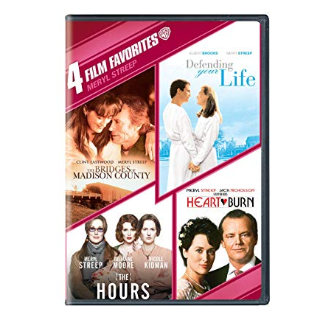 4 Film Favorites: Meryl Streep (The Bridges of Madison County, Defending Your Life, The Hours, Heartburn) | Vudu
