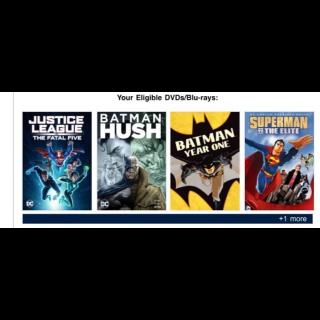 5 Animated DC movies | Vudu