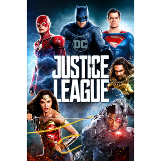 Justice League (2017) 4K UHD | MA Code