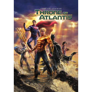Justice League: Throne of Atlantis UHD 4K   MA Code