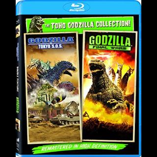 Godzilla: Final Wars / Godzilla: Tokyo S.O.S (Bundle)   Vudu