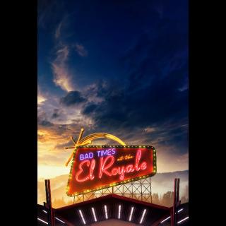 Bad Times at the El Royale 4K UHD   Vudu