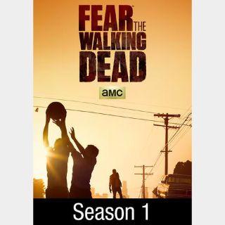 Fear the Walking Dead Season 1   Vudu