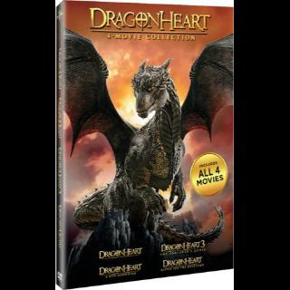 Dragonheart 4 Movie Collection (Digital Redemption Bundle) | Vudu