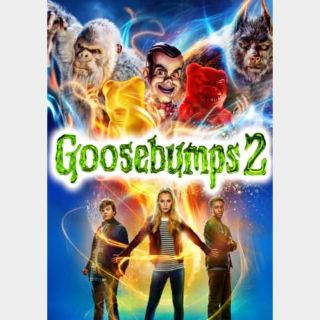 Goosebumps 2: Haunted Halloween (2018) 4K UHD   Vudu