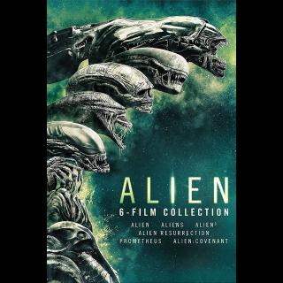 Alien 6-Film Collection (Bundle)   Vudu