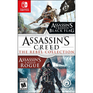 Assassin's Creed - The Rebel Collection Switch (NA Region)