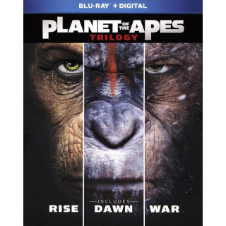 Planet of the Apes Trilogy (Bundle) | Instawatch VUDU