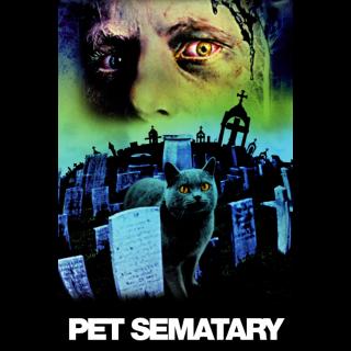 Pet Sematary (1989) 4K UHD | Vudu