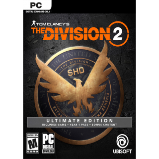 Tom Clancy's The Division 2 Ultimate Edition Uplay - GLOBAL
