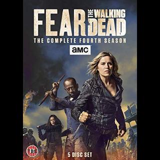 AMC Fear The Walking Dead Season 4   Vudu