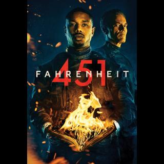 Fahrenheit 451 | Vudu