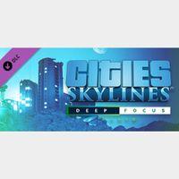 Cities: Skylines - Deep Focus Radio - Steam Key GLOBAL [ Instant Delivery ]