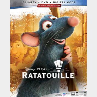 Ratatouille (2007) / qnkq🇺🇸 / HD GOOGLEPLAY / PORTS