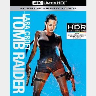 Lara Croft: Tomb Raider / ogs7🇺🇸 / 4K UHD VUDU / NO PORT