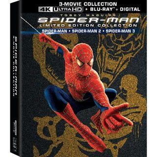 SPIDER-MAN TRILOGY / 🇺🇸 / 4K UHD Spider-Man 1, 2, 3 / 4K UHD MOVIESANYWHERE / PORTS