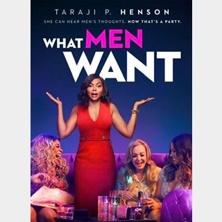 What Men Want (2019) / eurb🇺🇸 / 4K UHD ITUNES code / redeem @ itunes / NO PORT
