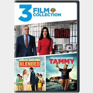 3-MOVIE COLLECTION / 8uw3🇺🇸 / $2 clearance! / 🍿😈 / Blended + Tammy + The Intern / SD MOVIESANYWHERE
