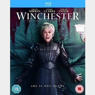 Winchester (2018) / 🇺🇸 / HD VUDU, HD GOOGLEPLAY, HD ITUNES / NO PORT