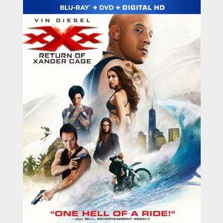 xXx: Return of Xander Cage (2017) / yubg🇺🇸 / $2 clearance! / 🍿😈 / HD VUDU / NO PORT