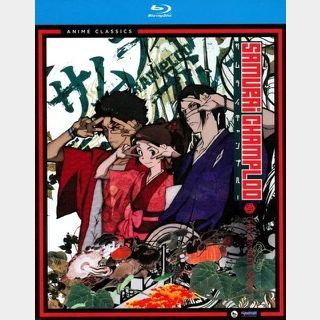 SAMURAI CHAMPLOO (2004) / 🇺🇸 / THE COMPLETE SERIES / HD FUNIMATION code