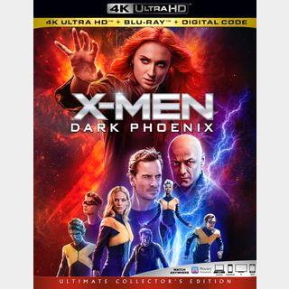 X-Men Dark Phoenix (2019) / 🇺🇸 / 4K UHD MOVIESANYWHERE, 4K UHD VUDU / PORTS