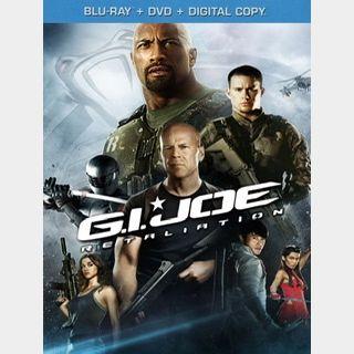 G.I. Joe Retaliation (2013) / 🇺🇸 / HD VUDU / NO PORT