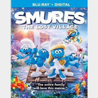Smurfs The Lost Village / 3cqk🇺🇸 / HD MOVIESANYWHERE / PORTS