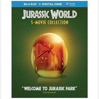 JURASSIC WORLD 5-MOVIE COLLECTION / set1🇺🇸 / HD MOVIESANYWHERE / PORTS