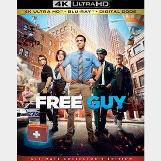 Free Guy (2021) / 3ikj🇺🇸 / 4K UHD MOVIESANYWHERE, 4K UHD VUDU