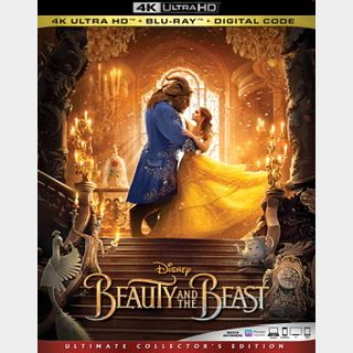 Beauty and the Beast (2017) / 3m63🇺🇸 / 4K UHD ITUNES code / redeem @ itunes