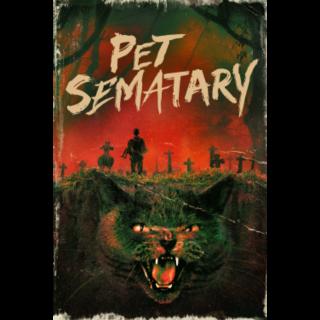 4K Pet Sematary (1989) — iTunes